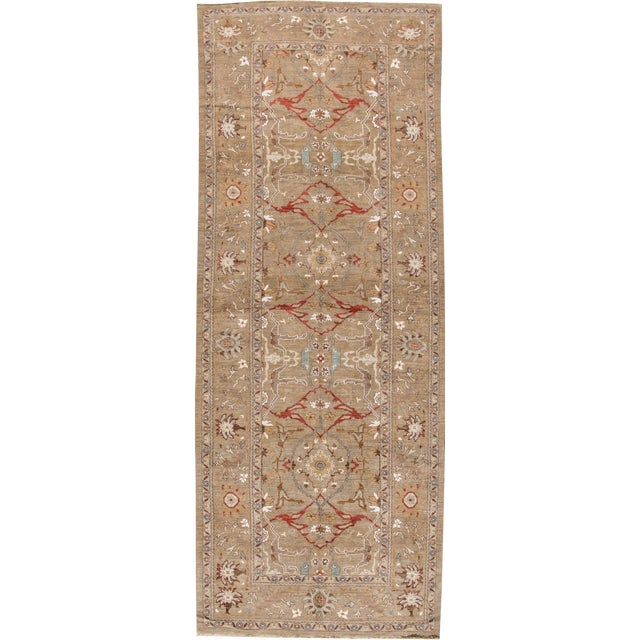 "Persian Sultanabad Rug - 6'4"" x 16'5"" - Image 1 of 10"