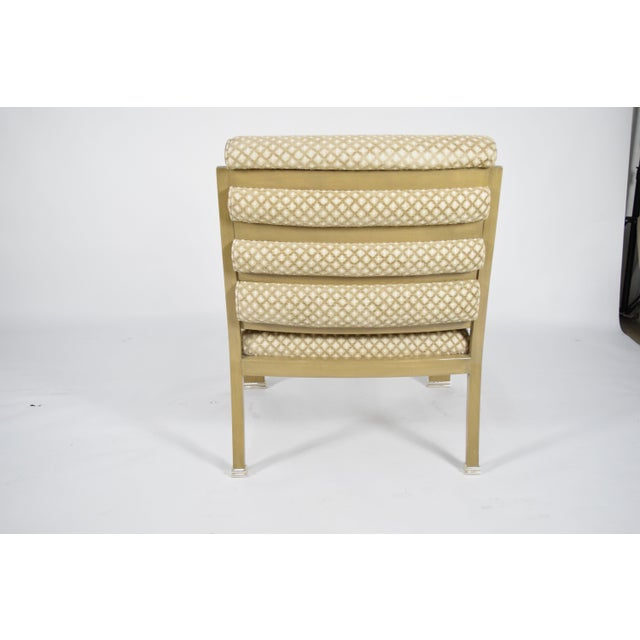 Textile J. Robert Scott Salon Deco Lounge Chairs by Sally Sirkin Lewis- Set of 8 For Sale - Image 7 of 10