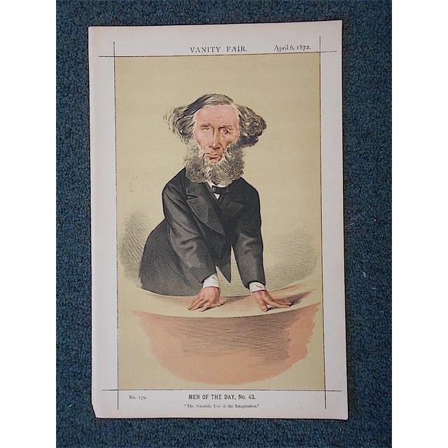 Antique Vanity Fair Lithograph - Image 2 of 3
