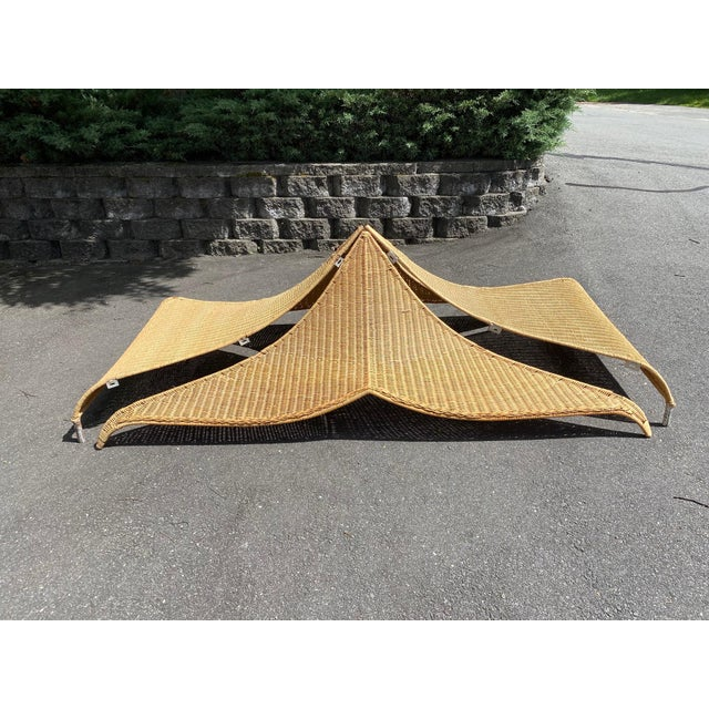 Architectural Rattan Canopy For Sale - Image 10 of 13