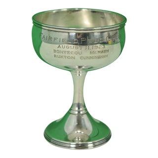"""Fairfield Polo Club"" Silver Trophy For Sale"