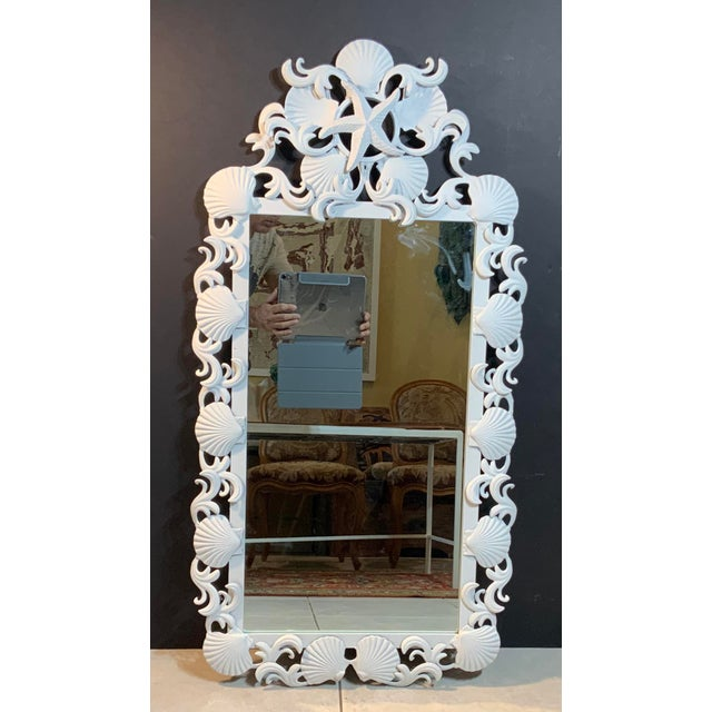 Sea Shell Iron Mirror For Sale - Image 13 of 13