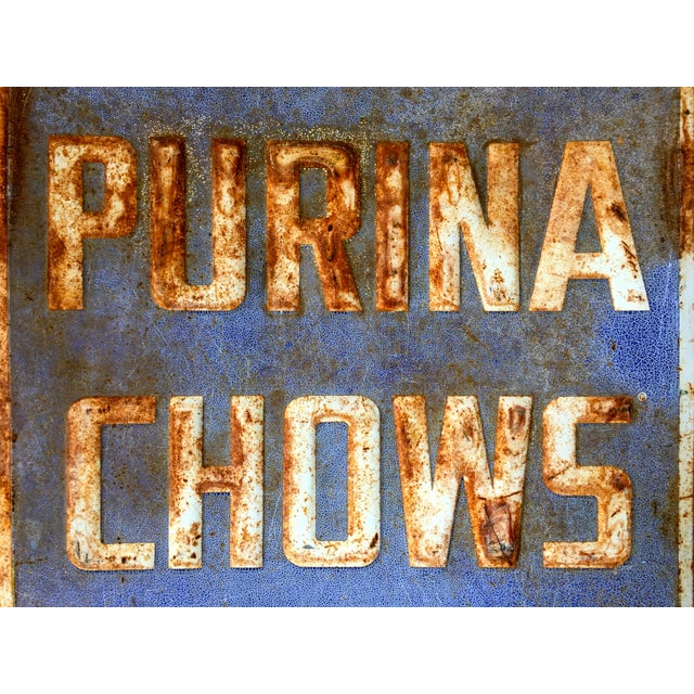 Vintage Purina Chow Sign - Image 6 of 8