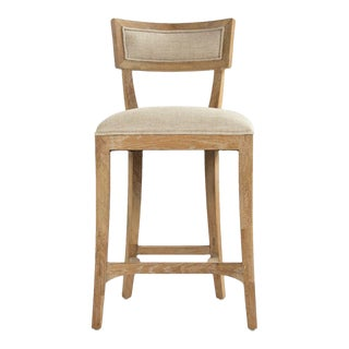 Selborne Counter Stool in Cream For Sale