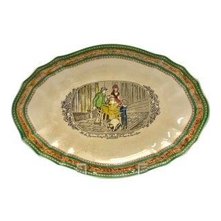 Early 20th Century Antique Adams Wedgwood Serving Dish For Sale