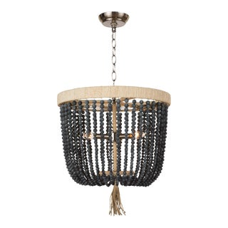 Milos Chandelier in Denim Blue For Sale