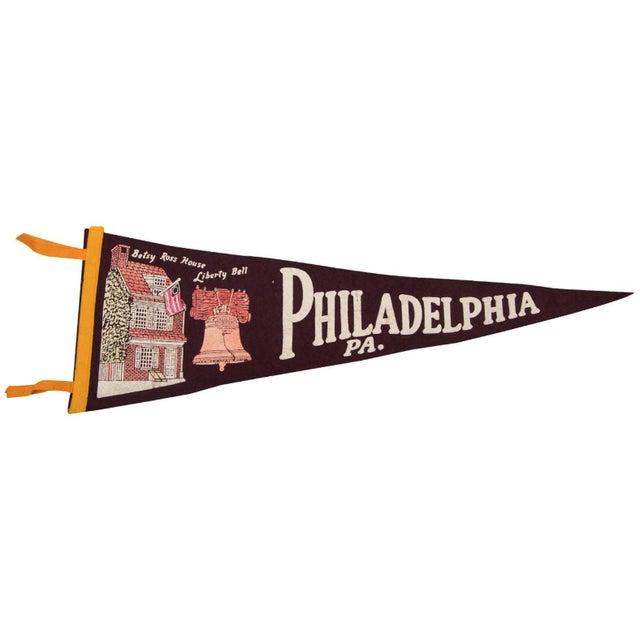 Philadelphia, PA Felt Flag - Image 1 of 3