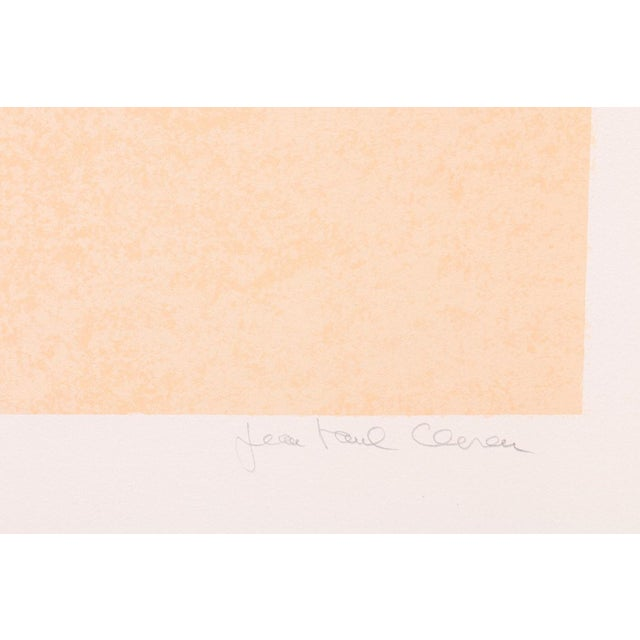 """Contemporary Jean Paul Cleren Limited Edition Lithograph-""""Double Visage""""-Pencil Signed/Numbered For Sale - Image 3 of 6"""