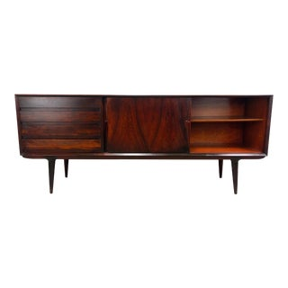 1960s Danish Modern Rosewood Credenza by Gunni Omann for Omann Jun For Sale
