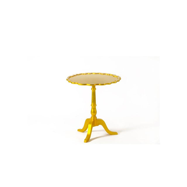 Traditional Shield Side Table From Covet Paris For Sale - Image 3 of 3