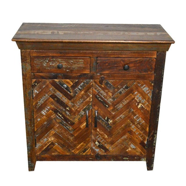 Reclaimed Sideboard Free Standing Cabinet - Image 2 of 3