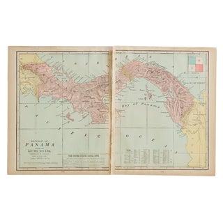 Cram's 1907 Map of Panama
