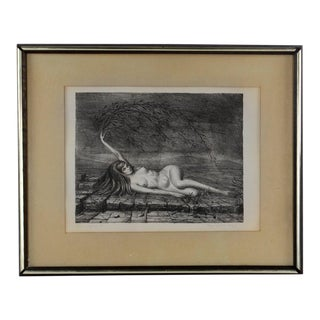 """Daphne III"" Lithograph Pencil Signed by Raymond A. Whyte For Sale"