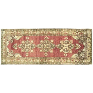 "Nalbandian - 1960s Turkish Oushak Carpet - 4'10"" X 12'8"" For Sale"