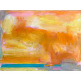 """""""Cable Beach"""" by Trixie Pitts Abstract Oil Painting For Sale"""