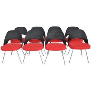 (4) Contemporary Knoll Eero Saarinen 72c-Piece Dining Side Chairs For Sale