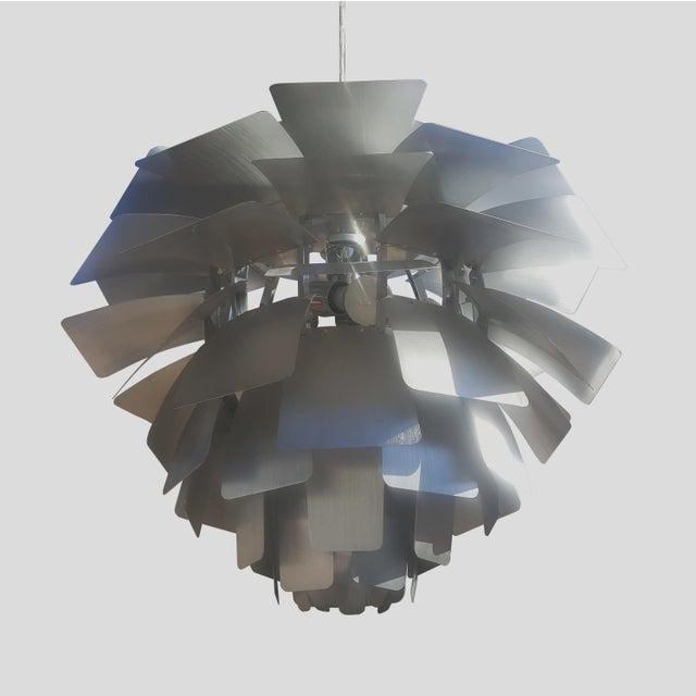 Mid century modern flower chandelier chairish mid century modern flower chandelier image 2 of 7 aloadofball Image collections