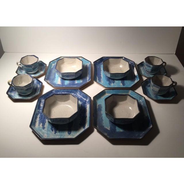 Mid-Century Modern Gordon Martz Ceramic Teacups / Dinnerware For Sale - Image 3 of 12