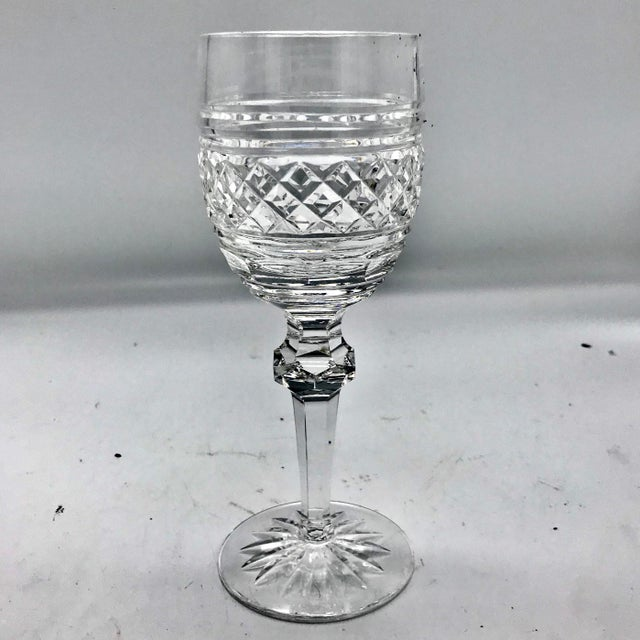 Crystal Waterford in Rare Archive Castletown Pattern Crystal Glasses - 18 Pieces For Sale - Image 7 of 11
