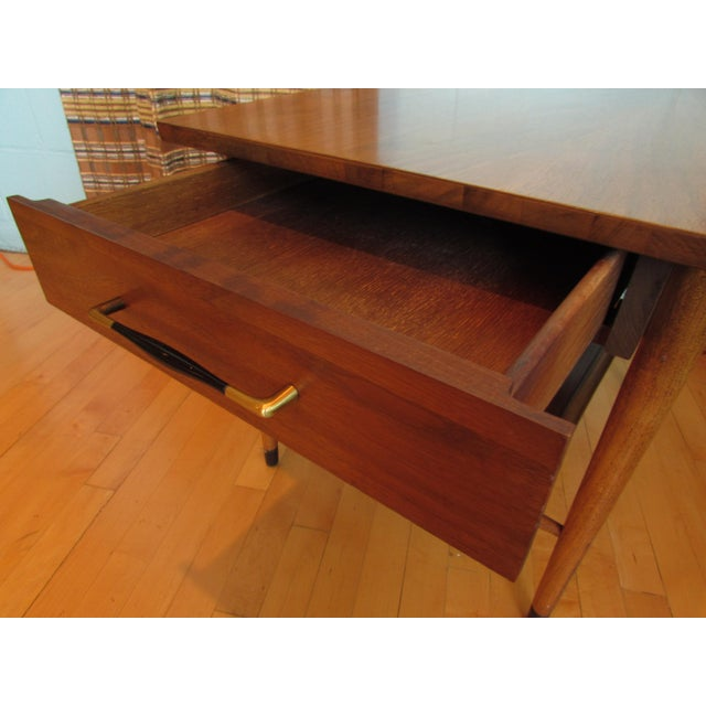 Mid-Century Modern Wood End Table - Image 8 of 8
