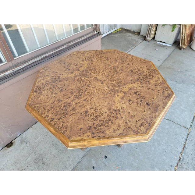 1970s Vintage Modern Wood Dining Table For Sale - Image 5 of 13