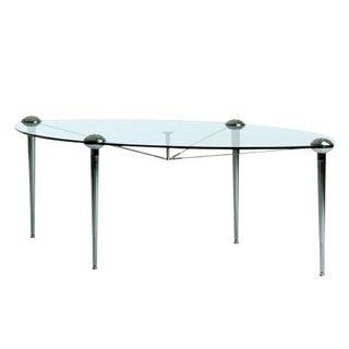 Modern Cerruti Baleri Ludwig Elliptical Dining Table For Sale
