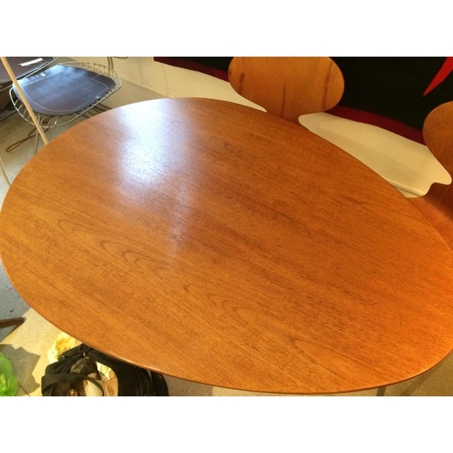 Arne Jacobsen Egg Table With Ant Chairs Set For Sale - Image 10 of 11