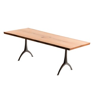 Contemporary Legacy Wishbone Base Dining Table For Sale