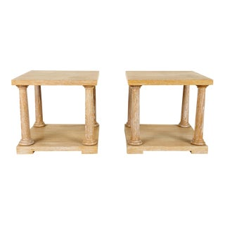 Pair of French End Tables For Sale