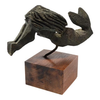 Bronze Female Nude Sculpture By Paolo Soleri For Sale