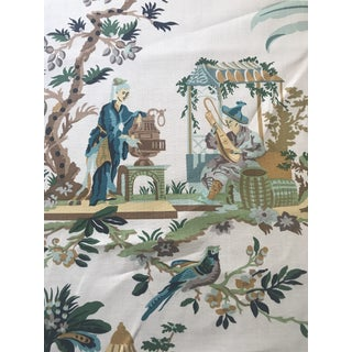 Brunschwig & Fils Le Lac Fabric 10 Continuous Yards For Sale