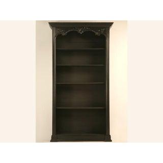 Antique French Louis XV Ebonized Bookcase Preview