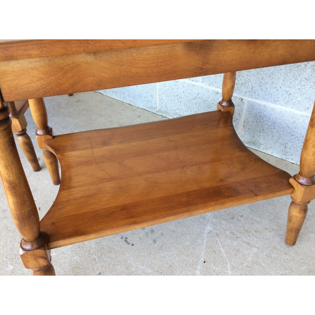 Cushman Colonial Maple End Tables - A Pair For Sale In Philadelphia - Image 6 of 10