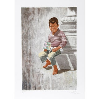 Vic Herman, Today's Chiclets Are Tomorrow's Shoes, Lithograph For Sale
