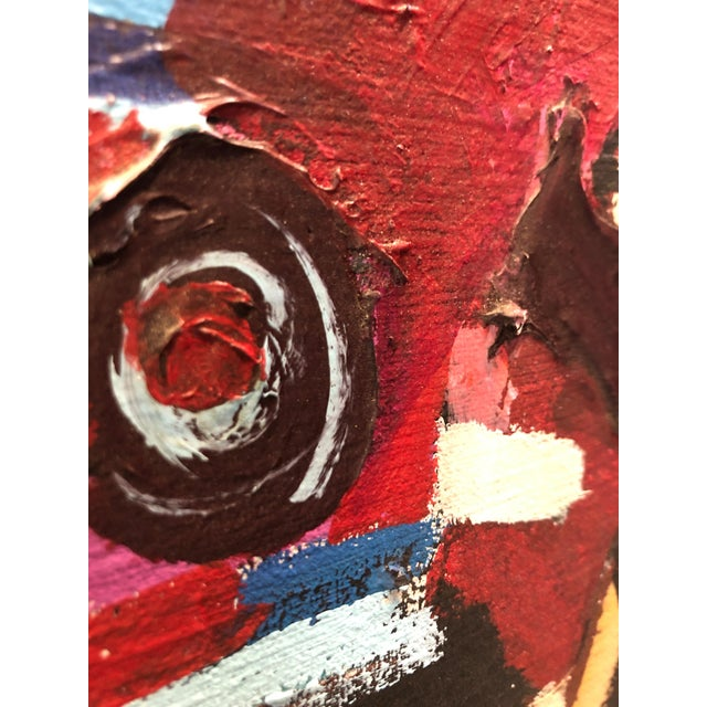 1970s Abstract Expressionism Painting Ny Artist For Sale - Image 10 of 11