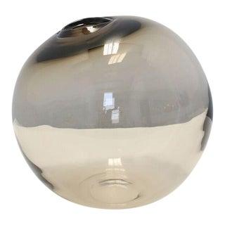 """SkLO Float Glass Vessel 16"""" - Olivin For Sale"""