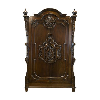 Boston Mills the Athene Rosewood Armoire For Sale