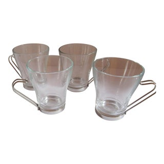Italian Cappuccino Cups-4 Pieces For Sale