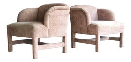 Image of Art Deco Wingback Chairs