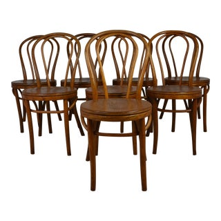 Bentwood Cafe Style Chairs - Set of 8 For Sale