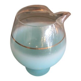 Blendo Turquoise Brandy Pitcher For Sale