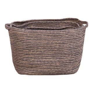 Sarreid Ltd. Paul's Valley Baskets - Set of 3 For Sale