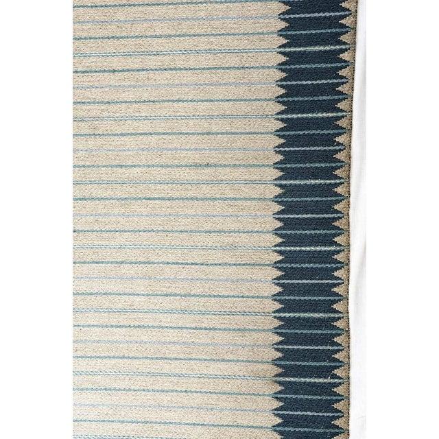 Vintage Ingrid Dessau Flat-Weave Swedish Carpet For Sale - Image 4 of 5