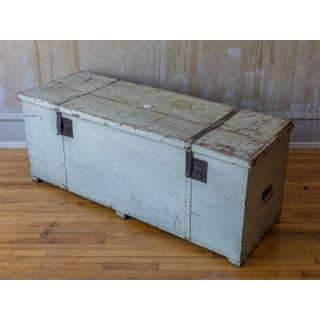 Antique Tuscan Trunk (1 of 2 Available) Preview