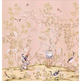 "Image of Casa Cosima Rose Brighton Triptych Wallpaper Mural - 3 Panels 108"" W X 100"" H For Sale"