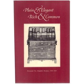 New Hampshire: Plain & Elegant Furniture