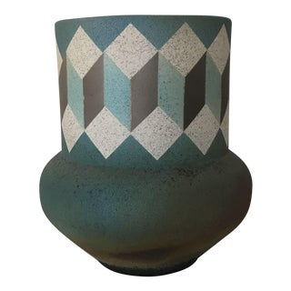 Nicholas Bernard Geometric Pattern Vase