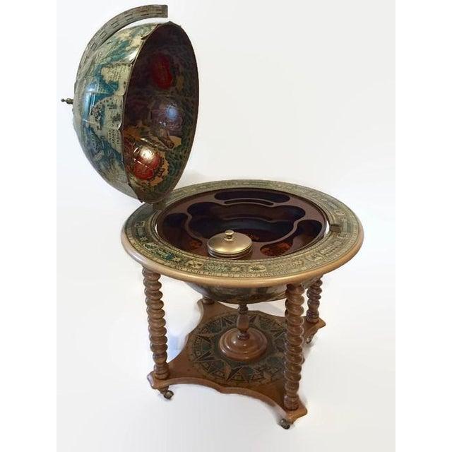 Mid-Century World Globe Bar Cart - Image 3 of 10