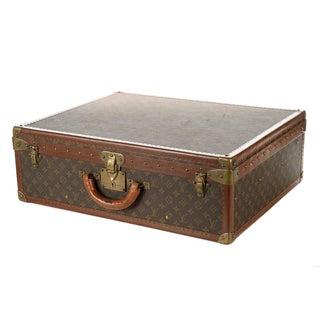 Louis Vuitton Alzer 1960s Vintage Monogram Suitcase For Sale