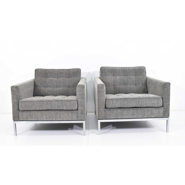 1960s Florence Knoll Chairs - a Pair For Sale - Image 12 of 13